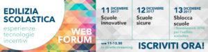 web forum edilizia scolastica